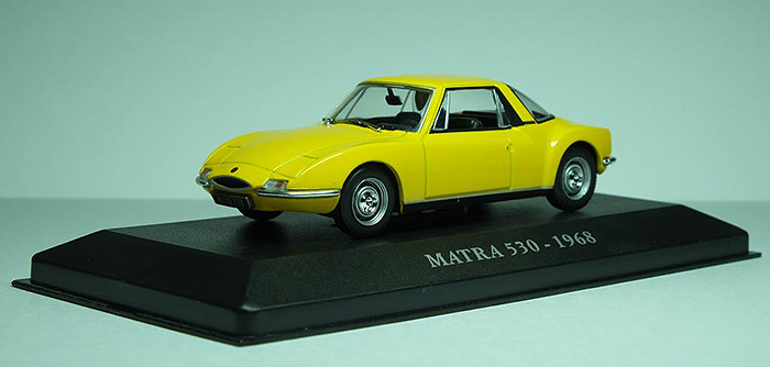 1968 Matra 530, yellow