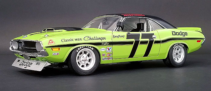 1970 Dodge Challenger Trans Am, Sam Posey