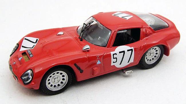 1966 Alfa Romeo TZ2, Nurburgring, Binchi/Schults