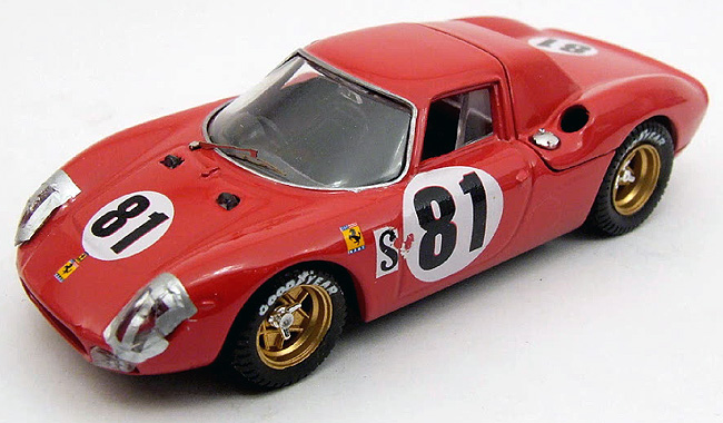 1968 Ferrari 250LM, Daytona, Piper/Gregory