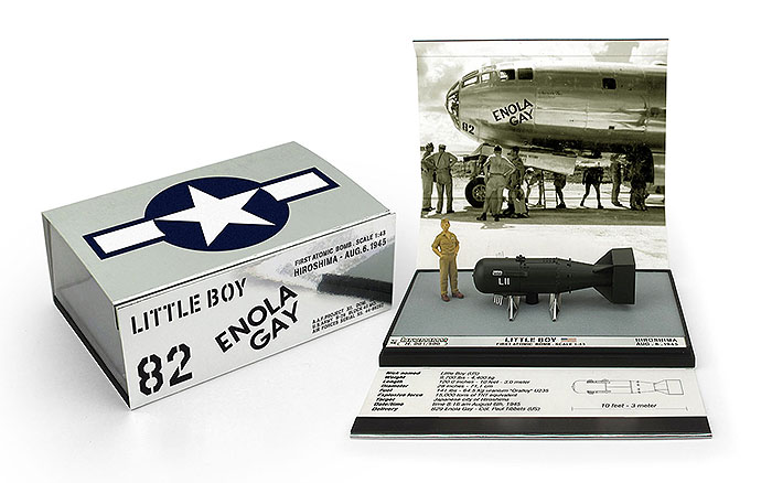 Little Boy Atomic Bomb-replicarz.com