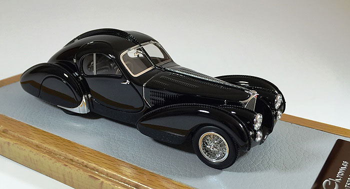 1936 Bugatti 57S Atlantic, Restoration black