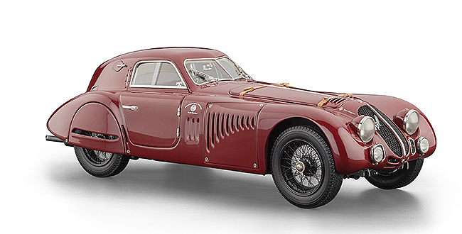 1938 Alfa Romeo 8C 2900B, Special Touring Coupe