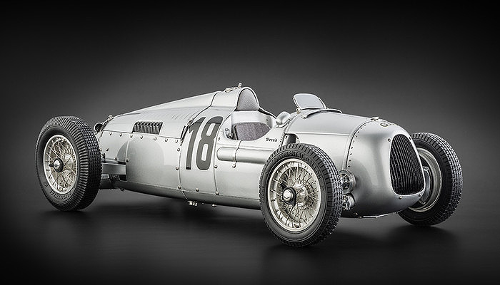 1936 Auto Union Type C, Nurburgring, B. Rosemeyer
