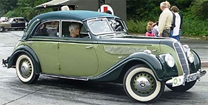 1939 BMW 335 Cabriolet D, closed roof, 2-tone Green-replicarz.com
