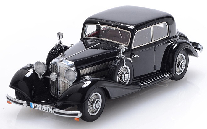 1936 Mercedes-Benz 540K Limousine 4doors, black