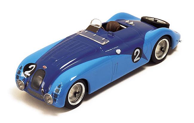 1937 Bugatti Type 57g Lemans Winner Wimillebenoist Replicarz