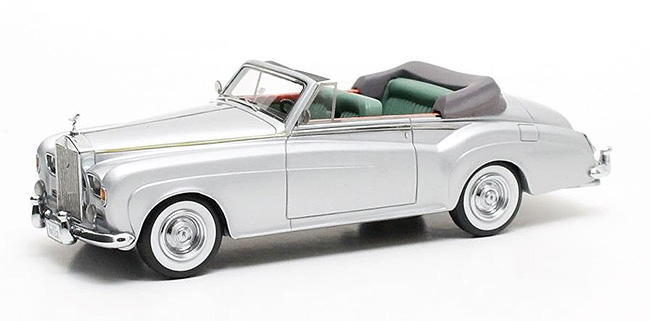 1963 H. J. Mulliner SC III DHC, silver