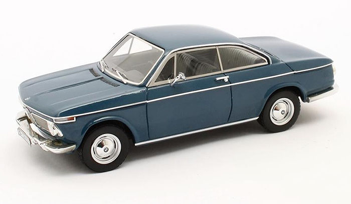 1967 BMW 1602 Baur Coupe, black