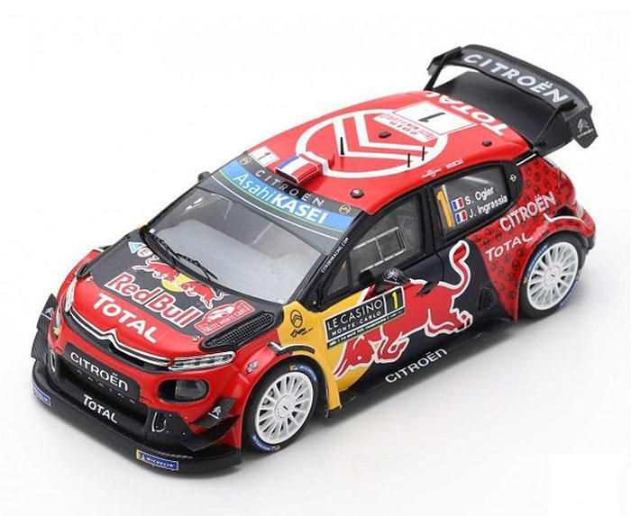 IXO RAM699 Citroen C3 WRC Winner Monte Carlo 2019-Sebastien Ogier escala 1//43