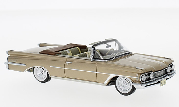 1959 Oldsmobile 98 Convertible, gold