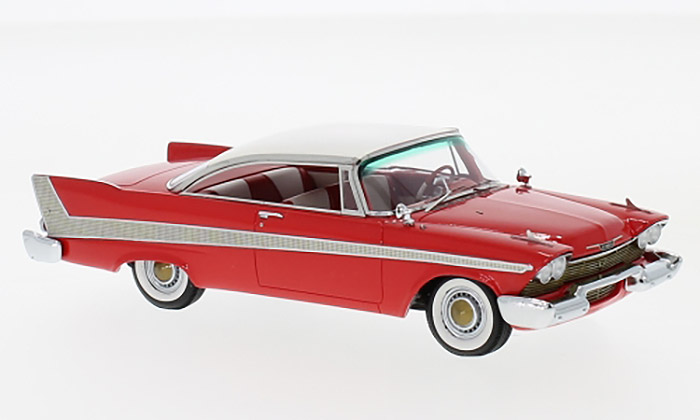 1958 Plymouth Fury Harttop, red/white