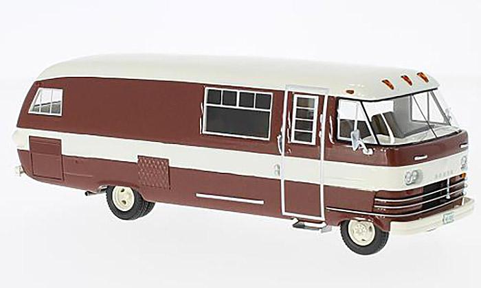1963 dodge travco motorhome maroon cream neo46308