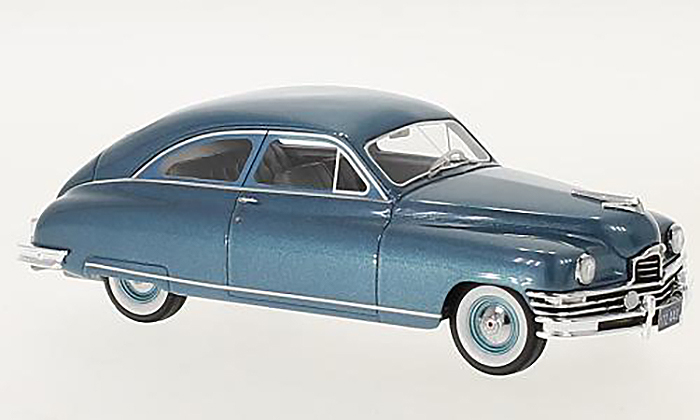 1949 Packard Super DeLuxe club, blue
