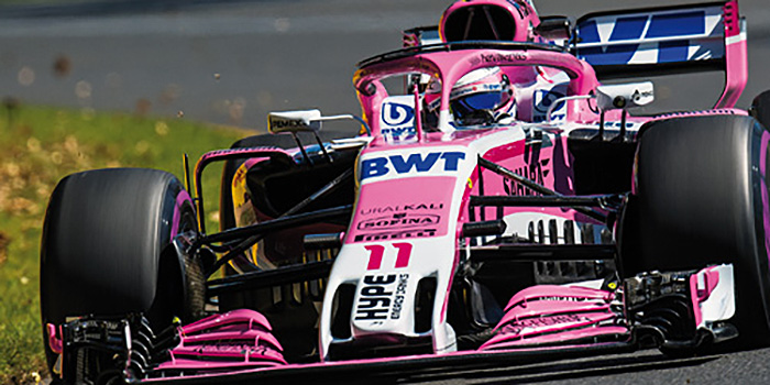 2018 Force India Mercedes VJM11, F1, Sergio Perez