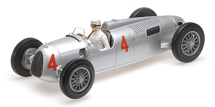 1936 Auto Union Type C, Automobile De Monaco GP, A. Varzi