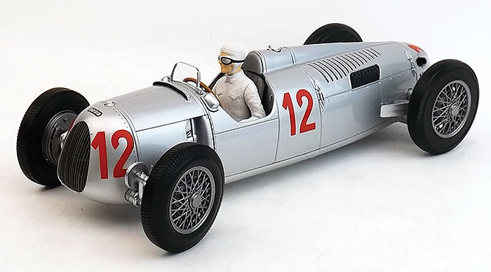 1936 Auto Union Type C, Budapest GP, H. Stuck