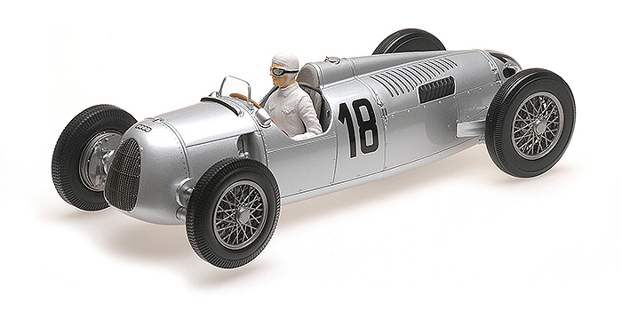 1936 Auto Union Type C, Internationales Eifelrennen Winner, B. Rosemeyer
