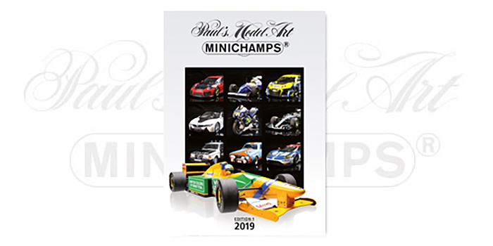 2019 Minichamps Master Catalog Edition 1