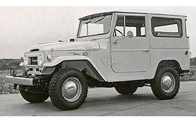 1967 Toyota Land Cruiser, beige