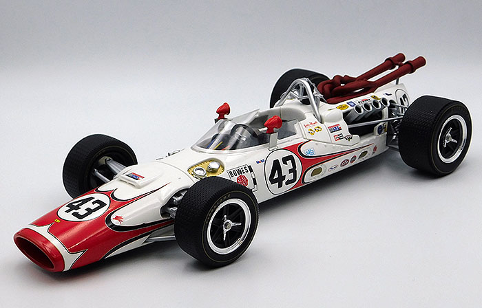 1966 Lola T90, Indianapolis 500 Rookie of the year, Jackie Stewart