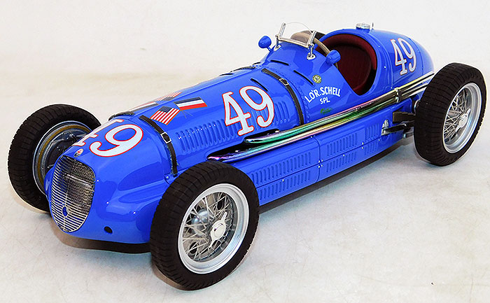 1940 Lor Schell Special, Indy 500 10th place, Rene LeBeque