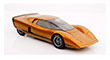 1969 Holden Hurricane Concept Car, orange