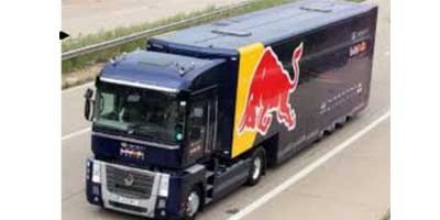 2013 Red Bull Racing Renault Magnum F1 Team Transporter