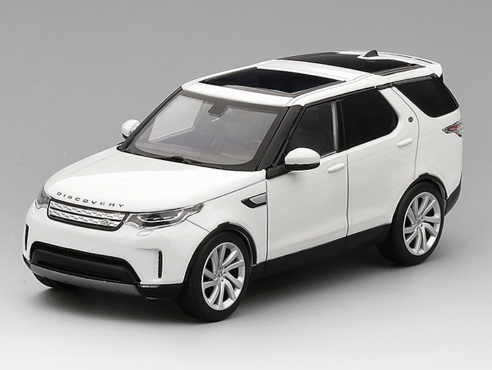 Land Rover Discovery, Fuji white