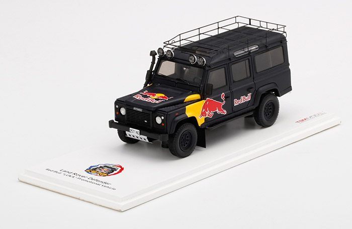 Land Rover Defender Red Bull LUKA Promotional Vehicle